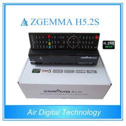Nouveau Récepteur Satellite Hevc H. 265 Zgemma H5.2s avec double tuners DVB-S2