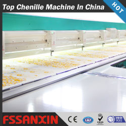 Fossxin chenilla de alta calidad de la cadena/máquina de bordar informatizada cosido con múltiples cabezas