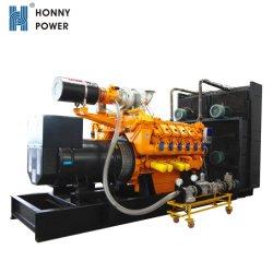 60Hz Vitesse moyenne de 1200tr/min générateur de gaz 800kw