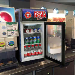 ETL/RoHS/CE 認定のコマーシャルグラスドアレストランホテルカウンターテーブルトップ ミニバービール飲料ソフトドリンク冷蔵庫( NW-SC40B )