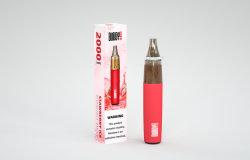 2000 Pugs العلامة التجارية للشركات المصنعة للمعدات الأصلية (OEM) مجموعات الأدوات الأولية القابلة للاستخدام بواسطة E-Cig