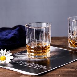 Los valores de fábrica de envases de vidrio cristal de whiskey cerveza vino de la copa de cristal