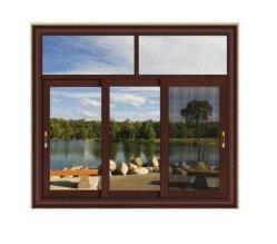 1,2-2,0mm Aluminium-Fenster/Aluminium-Fenster mit Drahtgitter