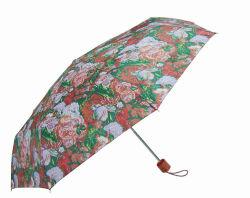 Хозяйственный зонтик 3 створок с популярной сортированной конструкцией