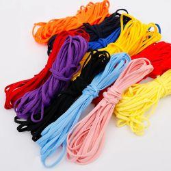 Fornecimento de fábrica de poliéster descartável de 3 mm/5 mm ou fita elástica de qualidade de nylon