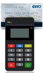 PARLEMENTSLID 45 OS van het Stootkussen van de Speld de Mini Androïde Lezer van de Creditcard Mpos van de Betaling Eind/Van de Bankkaart
