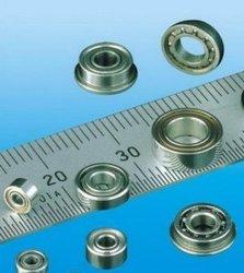 محامل كروي صغيرة للغاية ومحامل كروي مصغرة (تصميم متري مع شفة)