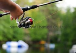 Caña de Pescar mejor peso de hierro fundido flotante de avance de la línea de Pesca con Mosca