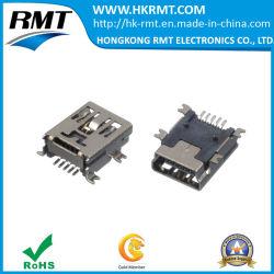 Conector mini USB para automóvil USB grabador (144-0855-H6121) en stock