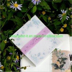 Notas de papel sulfúrico láser de uso manual de decoración Memo