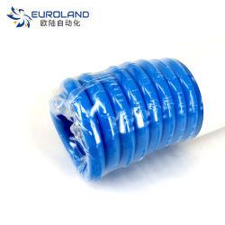 Tubo de PU en espiral de muelle de poliuretano de 6 mm de longitud de la manguera, 9MM, 12MM, 15mm