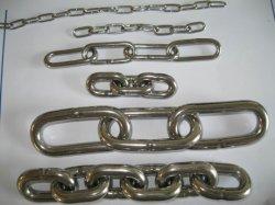 304/316 de acero inoxidable de alta calidad con una cadena de eslabones