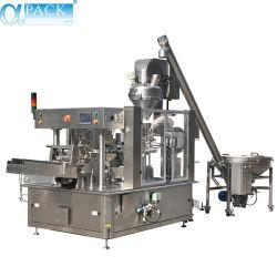 自動多機能の回転式前作られた袋の満ちるシーリング粉か食糧または純粋な水パッケージまたは包装のパッキング機械(AP-8BT)