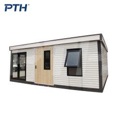 PTH의 새로운 모던 디자인 스마트 포터블 사전 제작 모듈식 스마트 하우스 알루미늄 합금 프레임 메인 하우스 외할머니집, 재난 구호 하우스, 휴가 하우스