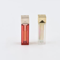 Etiqueta Privada OEM personalizados cosmética embalaje personalizado, Tubo de barra de labios Lip Gloss de tubos de embalaje