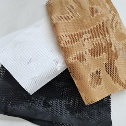 Feuilles de papier Kraft Emballage recyclable Honeycomb coussin pour les emballages de papier au lieu de mousse de la bulle