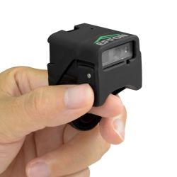Dati senza fili del lettore di codice a barre di Qr dello scanner di Bluetooth del 2D di barretta dell'anello di Bluetooth dell'anello scanner del codice a barre Pdf417 per il commercio elettronico