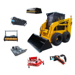Fabrieksprijs CE-goedgekeurde schranklader op rupsen Met dieselmotor te koop