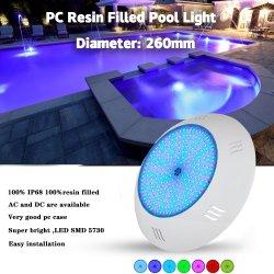 Spot subacqueo a LED impermeabile da 12 V e 18 W per il nuoto Piscina