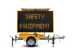 Il messaggio ambrato alimentato solare portatile di traffico della visualizzazione di LED di vendite di sicurezza stradale della gestione del traffico calda della strada principale firma le schede