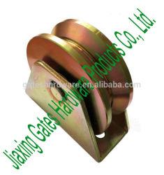 Rullo del cancello del metallo della scanalatura di Y con doppio cuscinetto per il cancello di scivolamento