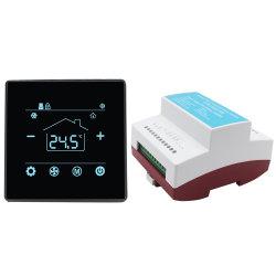 호텔 서모스탯 공급업체 분할 디지털 객실 온도 컨트롤러 AC 서모스탯 Modbus 사용