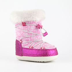 Botas de neve para crianças Winter New MID-Calf à prova de água, macias e grossas Botas antiderrapantes para criança tamanhos grandes