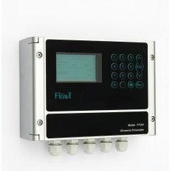 Montado na parede pinça ultra-sons do Fluxômetro para elevada precisão de medição de líquidos