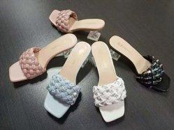 Lady Fashion Schoenen Glass Hiel PU Upper Women Slipper