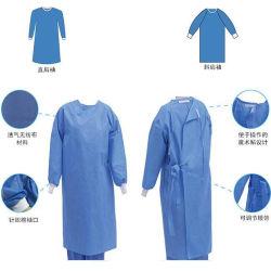 Nível 1 Não Tecidos estéreis vestido cirúrgica SMS à prova de estéreis descartáveis de SMS