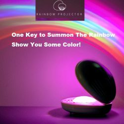 Caracol Arco Iris de proyección de la luz de ambiente de Noche de Luz LED de luz LED Color de LED de iluminación LED lámpara de noche Modelo Decoración luz-B
