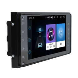 شاشة تعمل باللمس قياس 7 بوصات راديو السيارة BT GPS Navigation DVD صوت ستريو للسيارات لاعبة تويوتا
