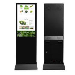 Affichage LCD Publicité statif au sol à la verticale Outdoor Indoor 3G 4G Affichage publicitaire LED numérique WiFi ad Player