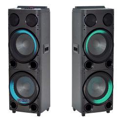 Усилитель DJ двойной 12дюйма PA АС Super низкочастотный громкоговоритель Аудио эквалайзер голосовой связи