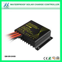 10A étanche Smart Wireless Rue lumière solaire avec driver de LED de contrôleur de batterie (QW-SR-DH50)