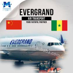 Services d'expédition de fret aérien fiable de la Chine au Sénégal/Dakar