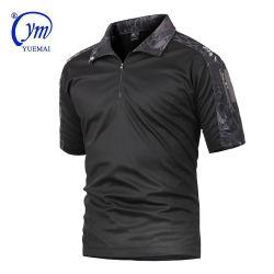 OEM Custom été tactique de camouflage T-Shirt à manches courtes hommes coton militaire