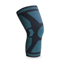 De aangepaste In te ademen Elastische Nylon Stootkussens van de Knie van de Steun van de Sporten van de Koker van de Knie van de Sport bewaken de OpenluchtSteun van de Steun van de Knie van de Beschermer van Sporten