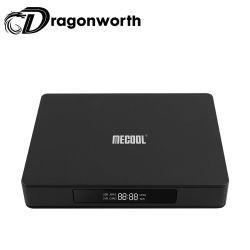 K6 DVB S2 - T2 - C 7.0 de Android TV Box 2GB de RAM 16 GB de ROM 2.4G + 5g WiFi Bluetooth USB3.0 4.1 100Mbps el Reproductor multimedia de 4K.