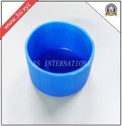 Bouchons en plastique rond bleu pour le tube ou les meubles jambes (YZF-E40)