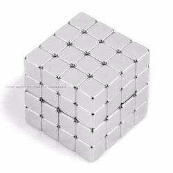 NdFeB fritté forte magnétique permanent/aimant en néodyme pour N35 N45 N52 L'aimant de bloc