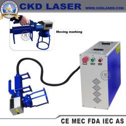 Déplacement de machines de marquage laser à fibre pour la gravure Partie de précision