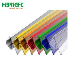 De plástico/PVC/PP etiquetas de preço titular para supermercado&prateleiras de armazenagem