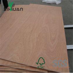 La Chine usine de contreplaqué de bois de placage en bois de teck naturel face pour le mobilier