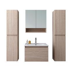MDF モダンなバスルーム機器( 2 サイドキャビネット付き
