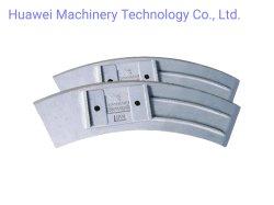 Het mengen van Wapen/Schraper/Schacht voor Concrete Mixer, Slijtvaste Delen, het Afgietsel van het Metaal