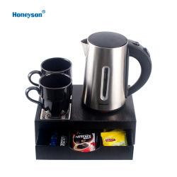 Insieme elettrico del cassetto di benvenuto della caldaia dell'hotel superiore dell'acciaio inossidabile di Honeyson