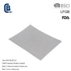 Stuoia a temperatura elevata della maglia di cottura della griglia del BBQ della vetroresina del commestibile PTFE