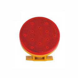 Rotes LED-blinkendes warnendes Vorsicht-Barrikade-Reflektor-Licht mit Magneten