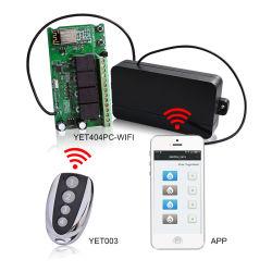 자동 문 방벽 미닫이 문을%s APP를 가진 Wi Fi 통제 릴레이 Swith 지능적인 라디오 수신기